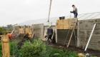 Будівництво теплиці у 2011 році